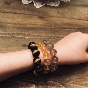 Jewelry - Healing Tiger eye stone handmade bracelet